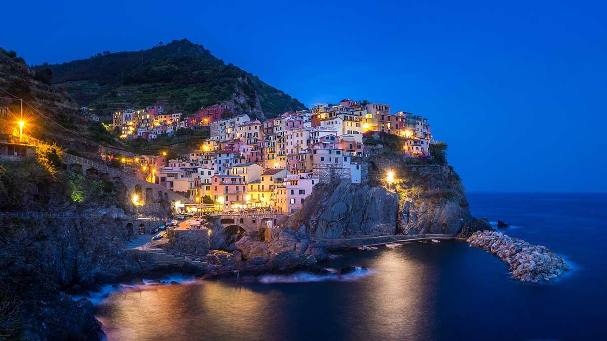 manarola italie mediterranne